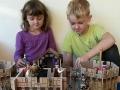 hrad s dětmi