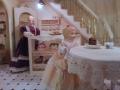 kavárna pult a stůl