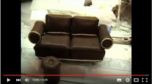 video sofa