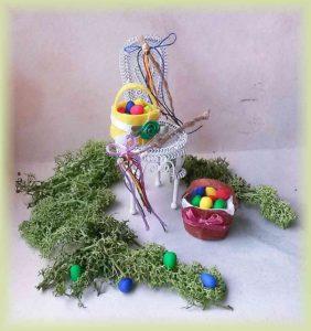 Velikonoce - mrskačky a košíky
